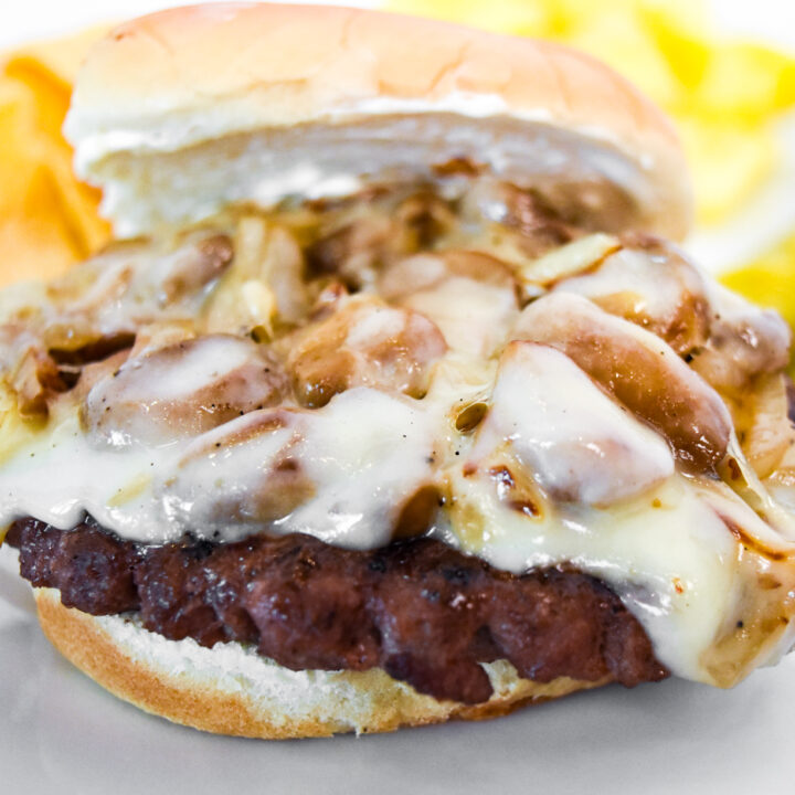 Swiss Mushroom Hamburger Recipe
