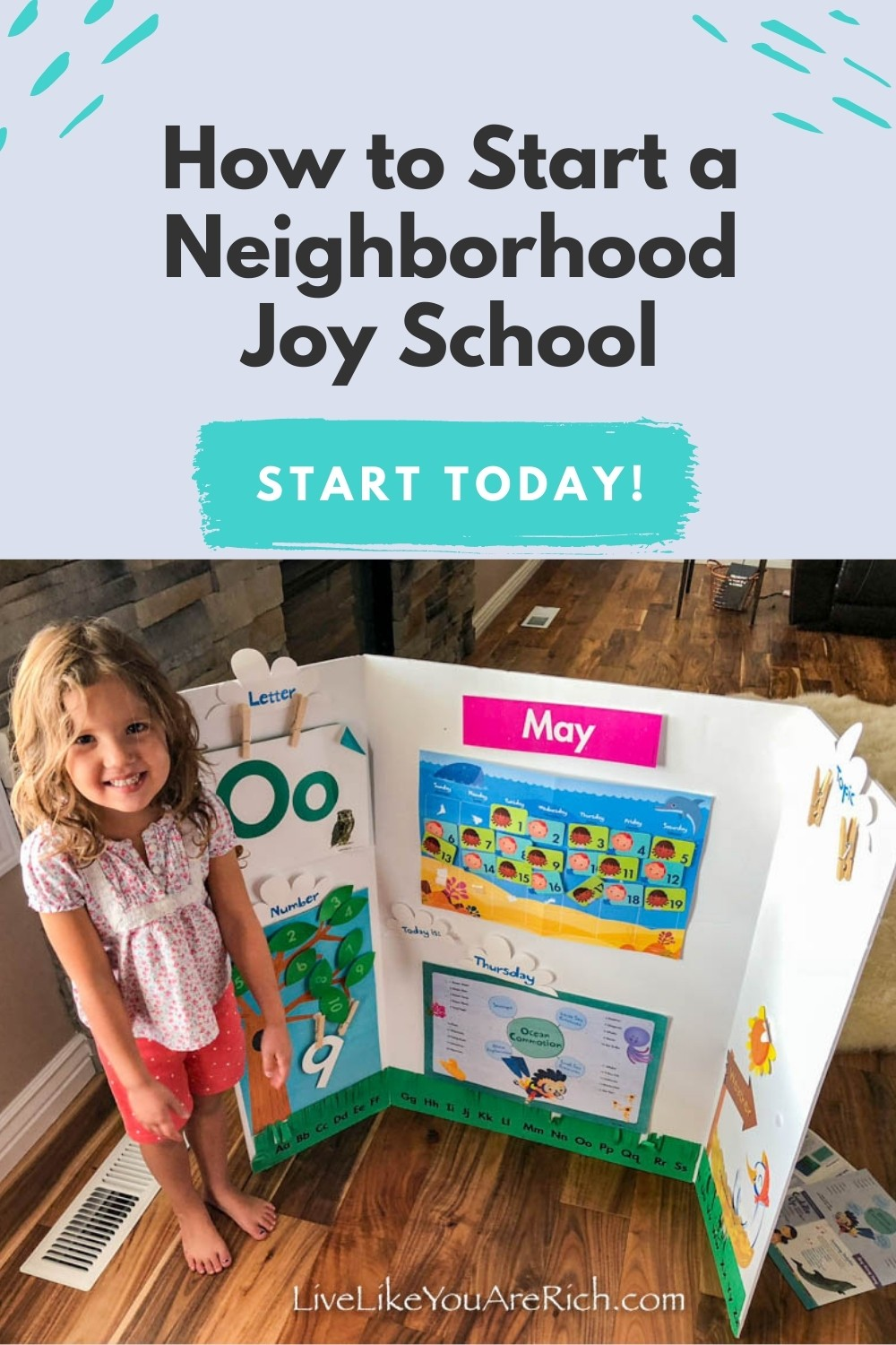 Joy school is also known as a co-op preschool; it is taught and ran by the mothers of the children. Participating in a neighborhood joy school was such a positive experience! I'd highly recommend participating in one if you can! I'm sharing these 13 steps to help you know how to start a neighborhood joy school!
