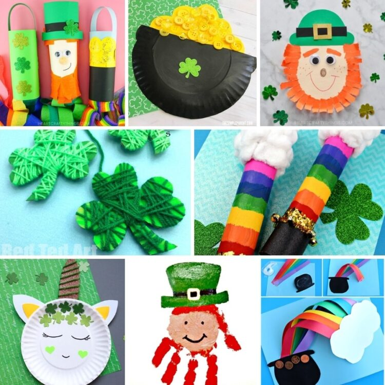 25 Easy St. Patrick's Day Crafts for Kids