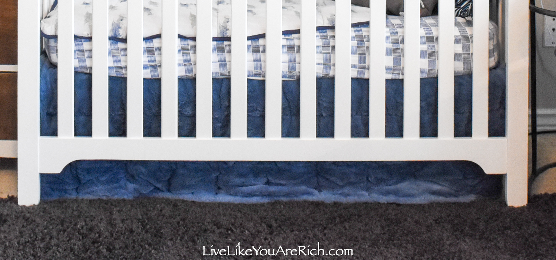 Travel Themed Boy Nursery blue sheet
