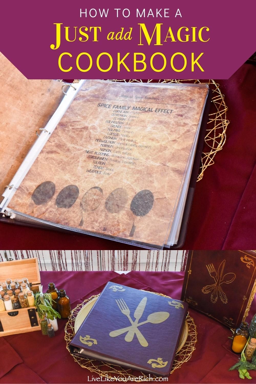 How to Make a DIY Just add Magic Cookbook