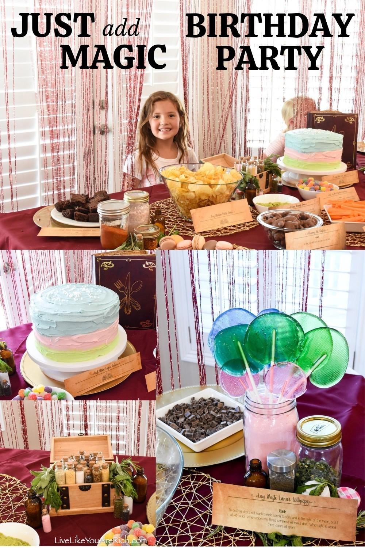 Just Add Magic Birthday Party