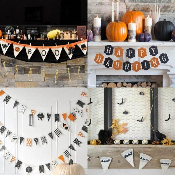 15 Cute Handmade Halloween Banners