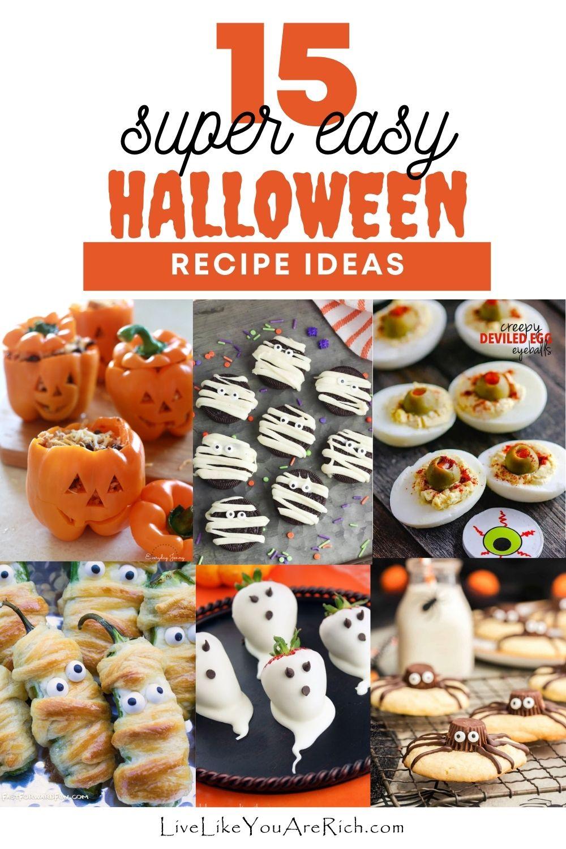15 Easy Halloween Treats